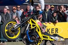 SUPERBIKER METTET 2015 - Show Stunt avec ARAS