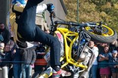 SUPERBIKER METTET 2015 - Show Stunt avec ARRAS